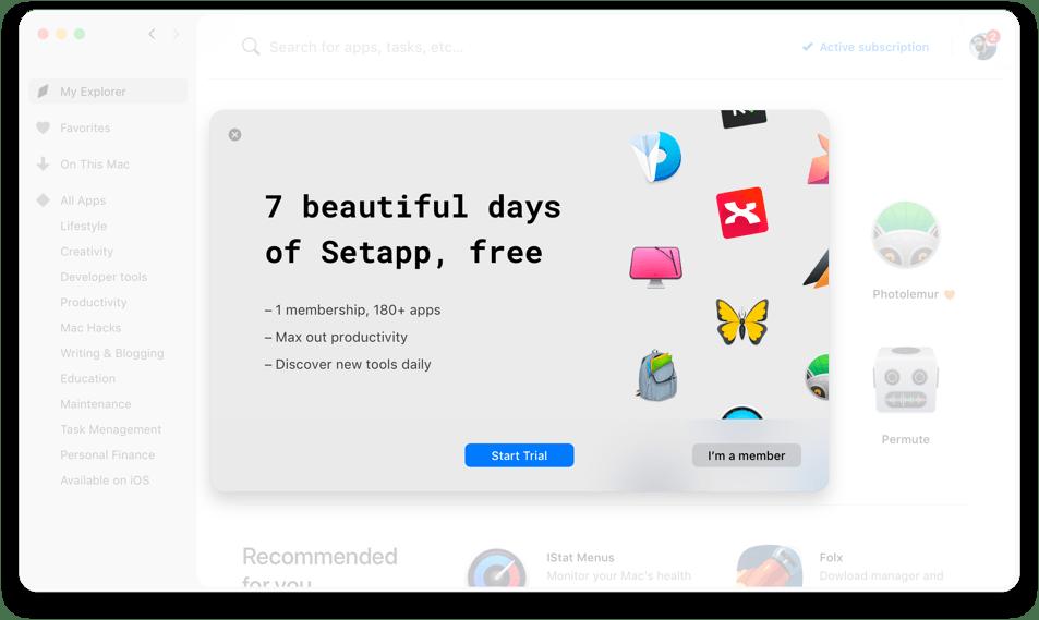 Un seul règlement par mois, pour toutes les apps