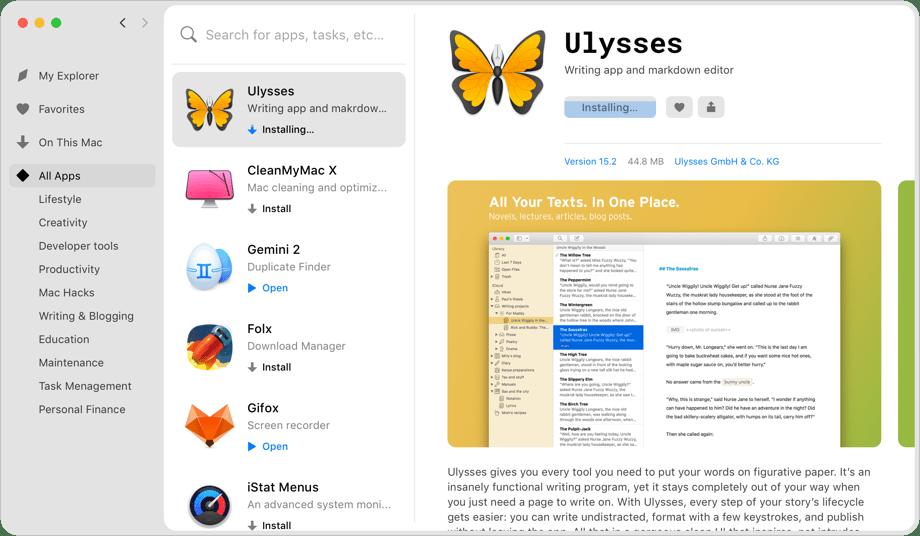 Installa tutte le app che desideri
