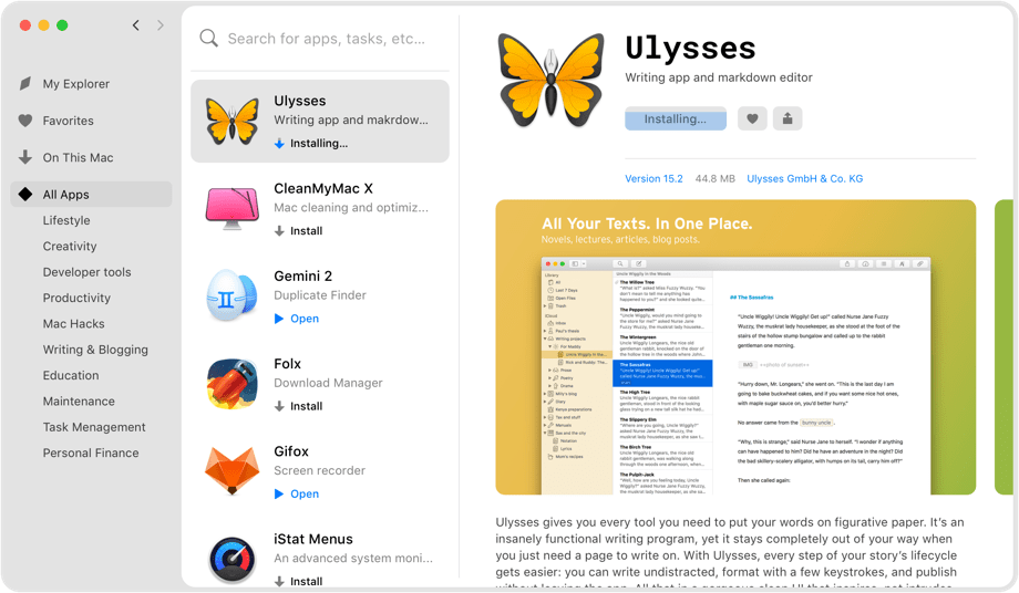 Install as many apps as you want