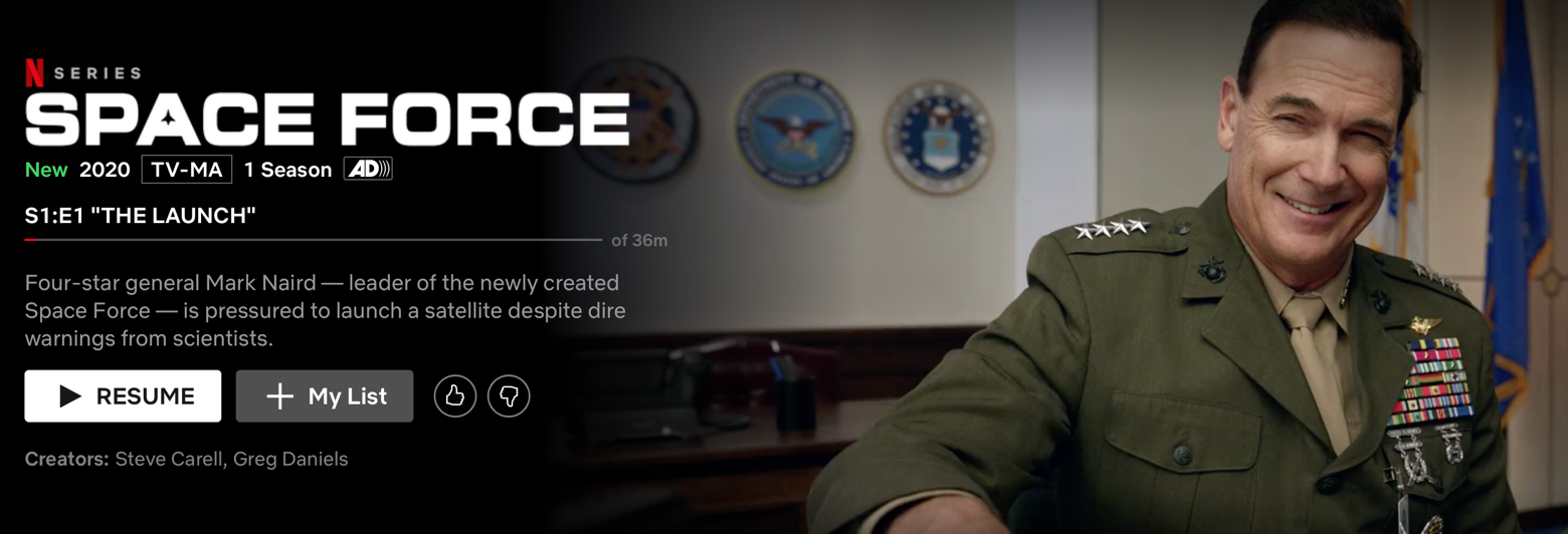 Netflix Space Force