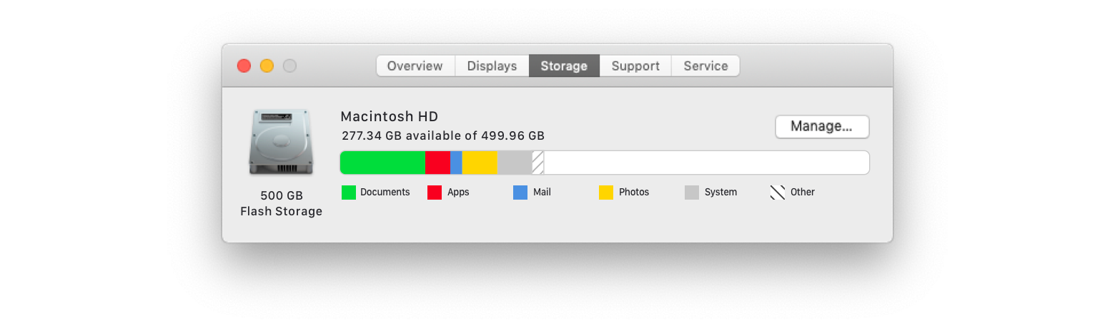 Increase your Mac's storage space
