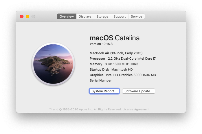 About This Mac value sell Apple