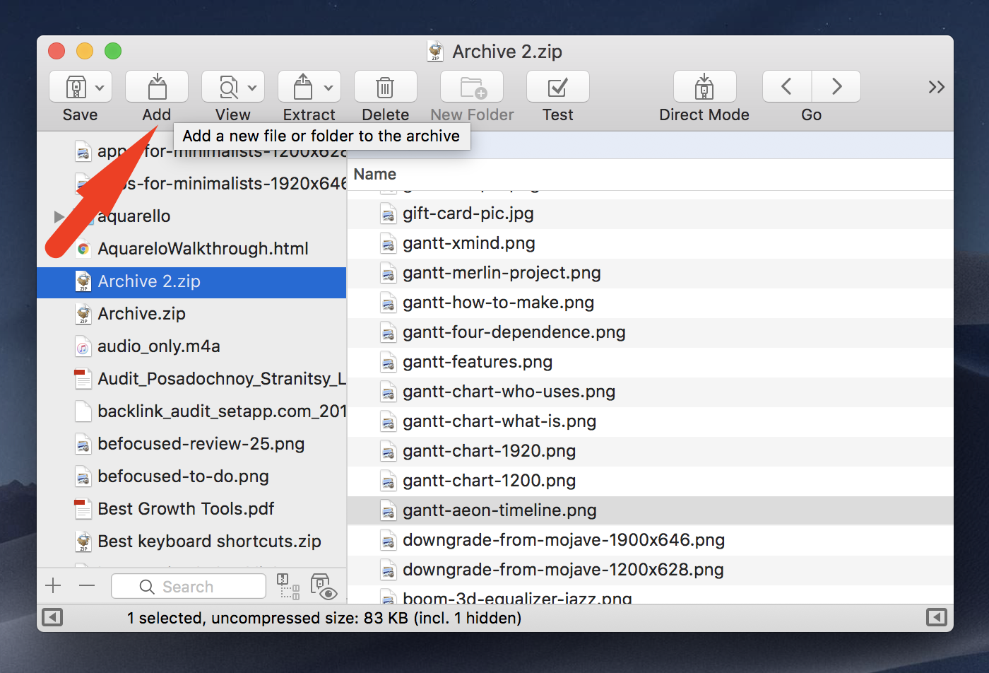 The Easiest Way to Archive Files on a Mac