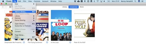 How To Add Videos To iTunes