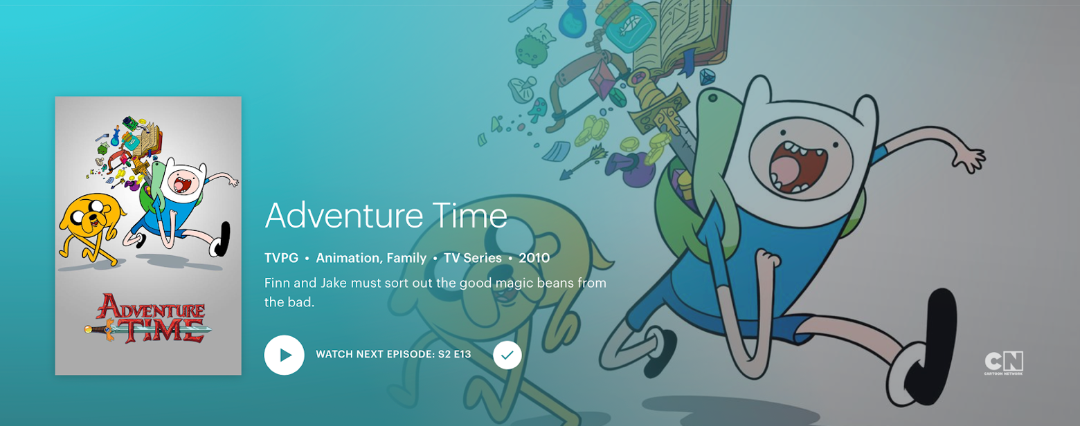 Adventure Time Hulu