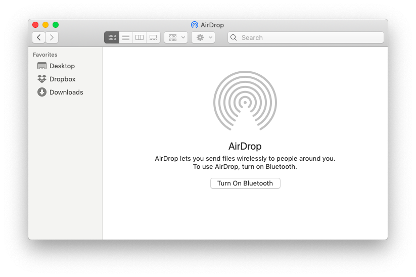 airdrop mac finder