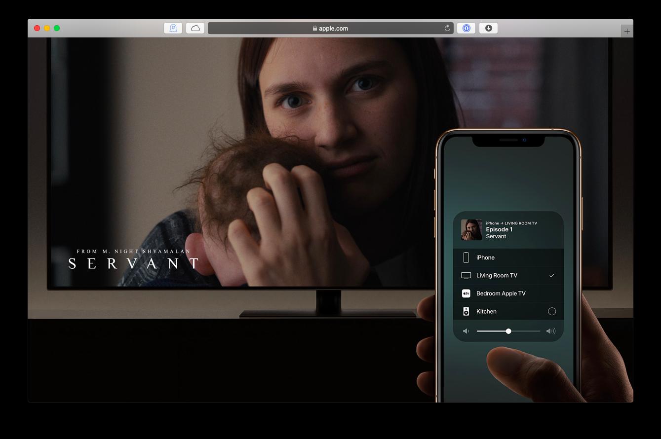 airplay iphone tv stream