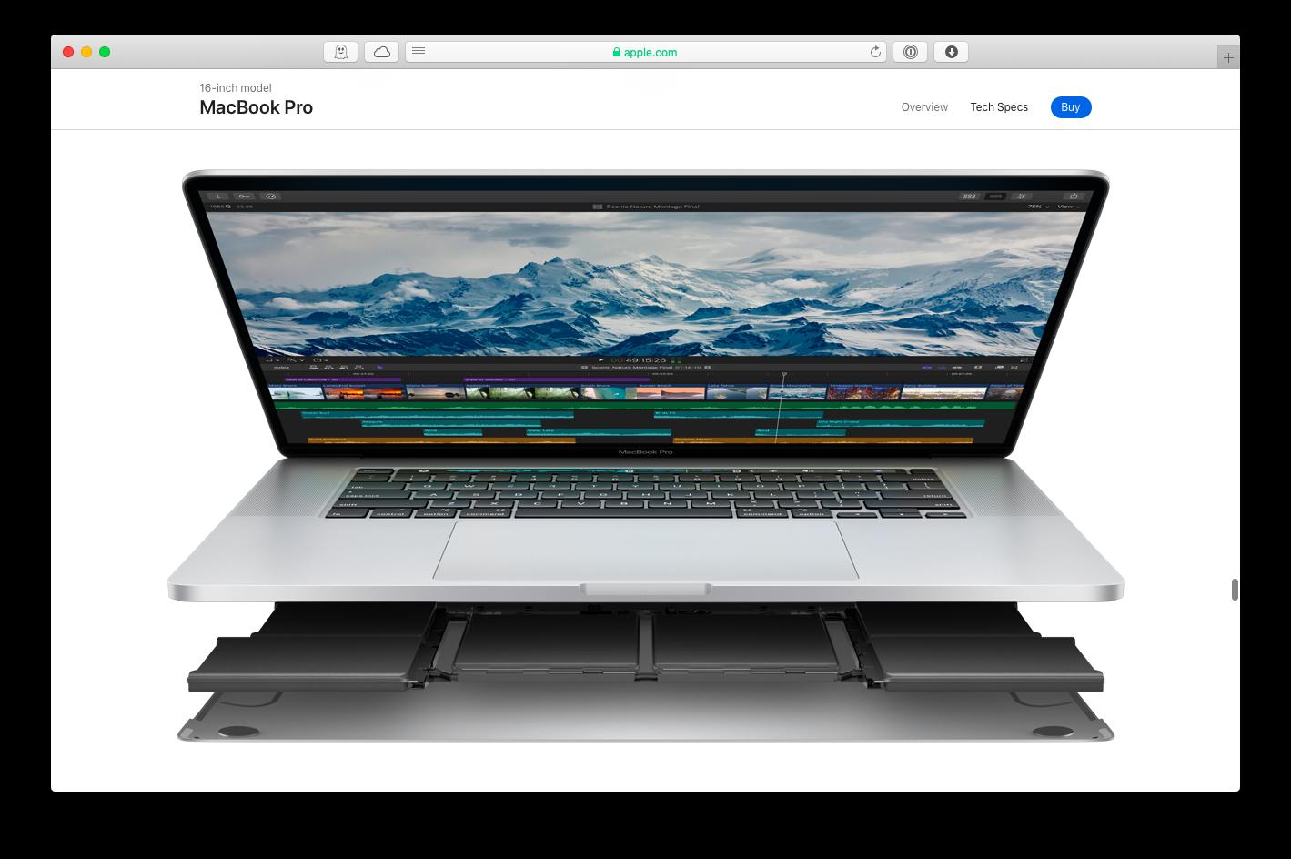 Apple MacBook battery life