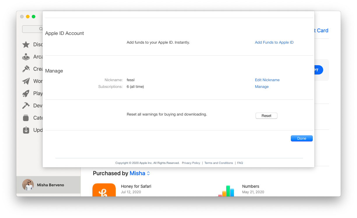 Apple News cancel subscription App Store