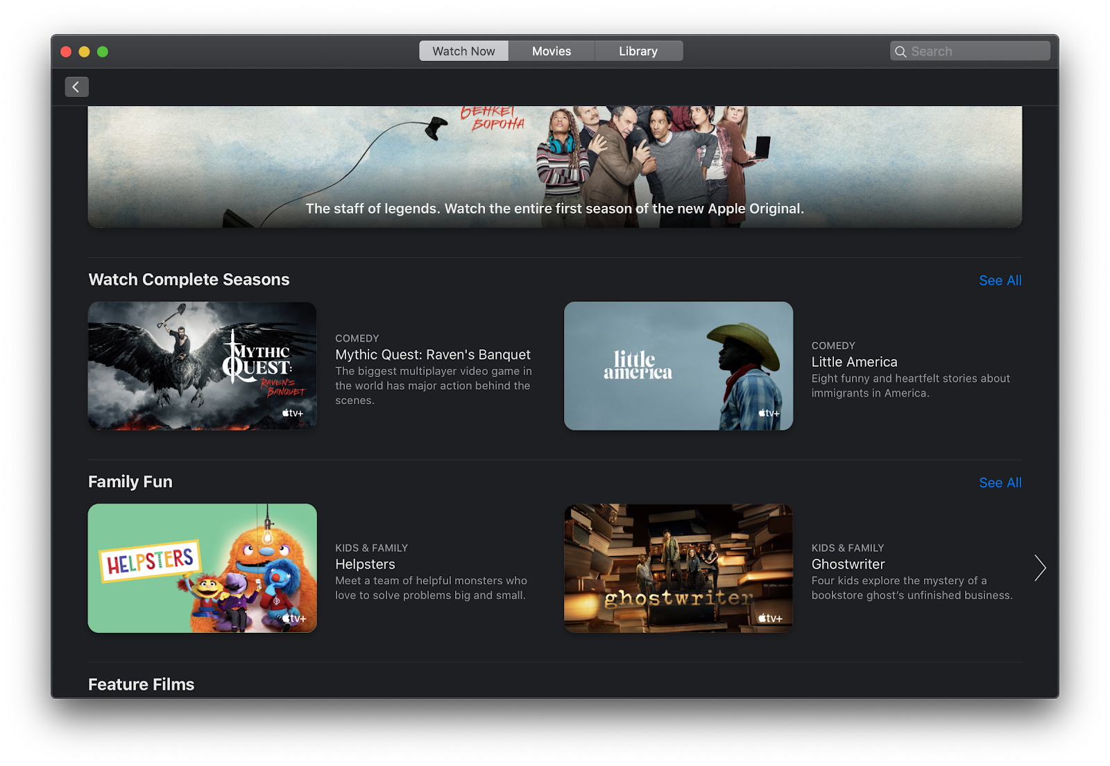 Apple tv+ subscription