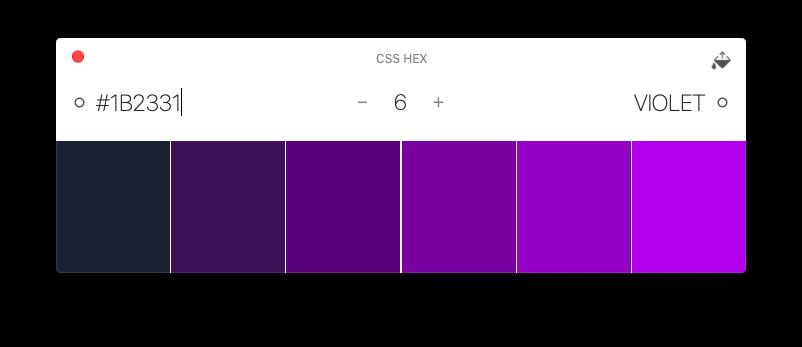 Aquarelo colors manager