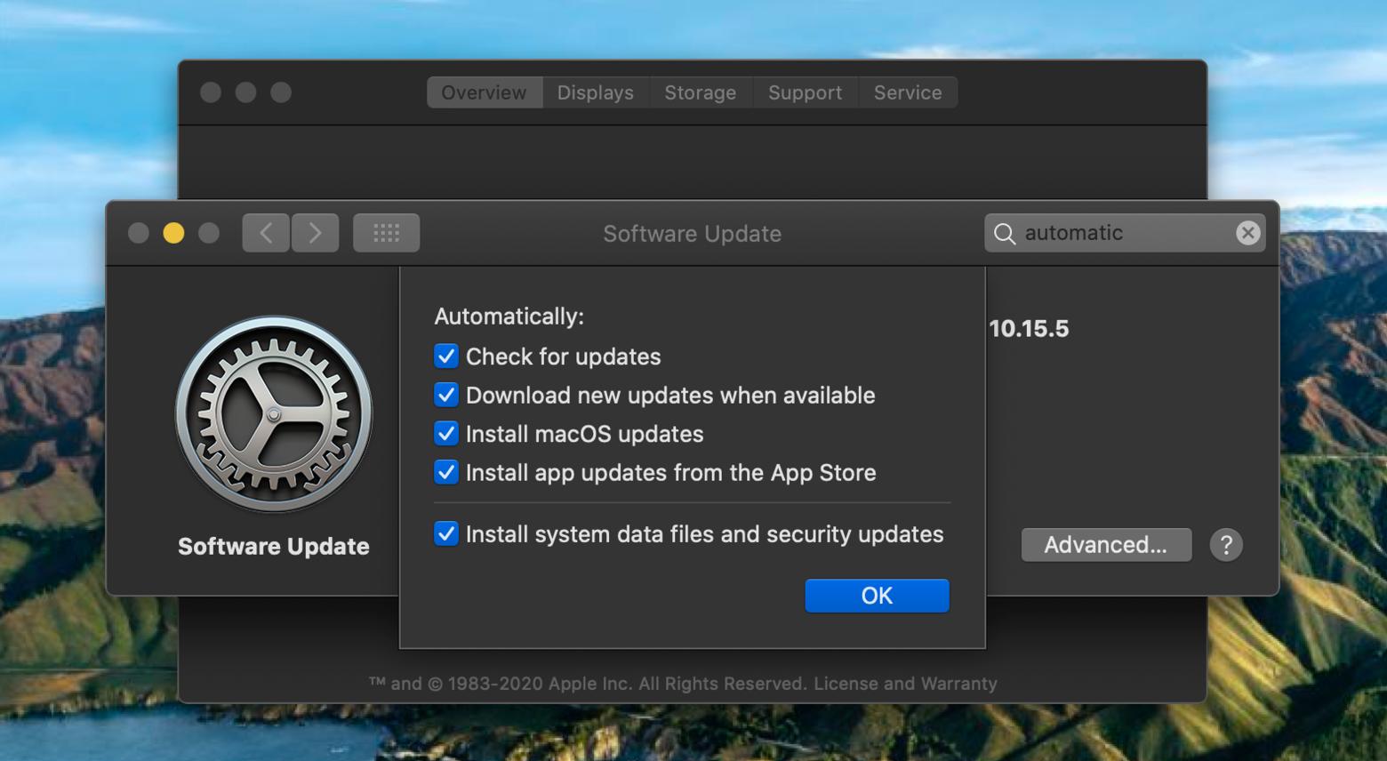 automatically backup mac