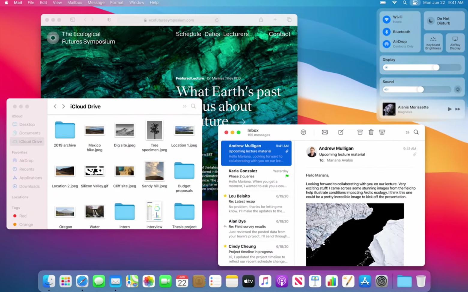 Novos recursos do macOS 11 Big Sur