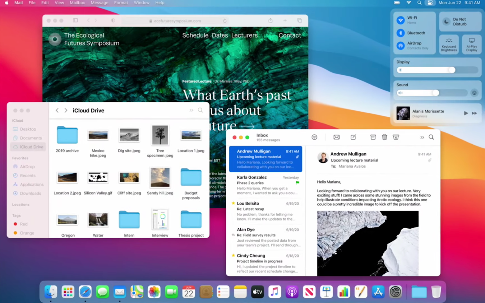 macOS 11 Big Sur new features