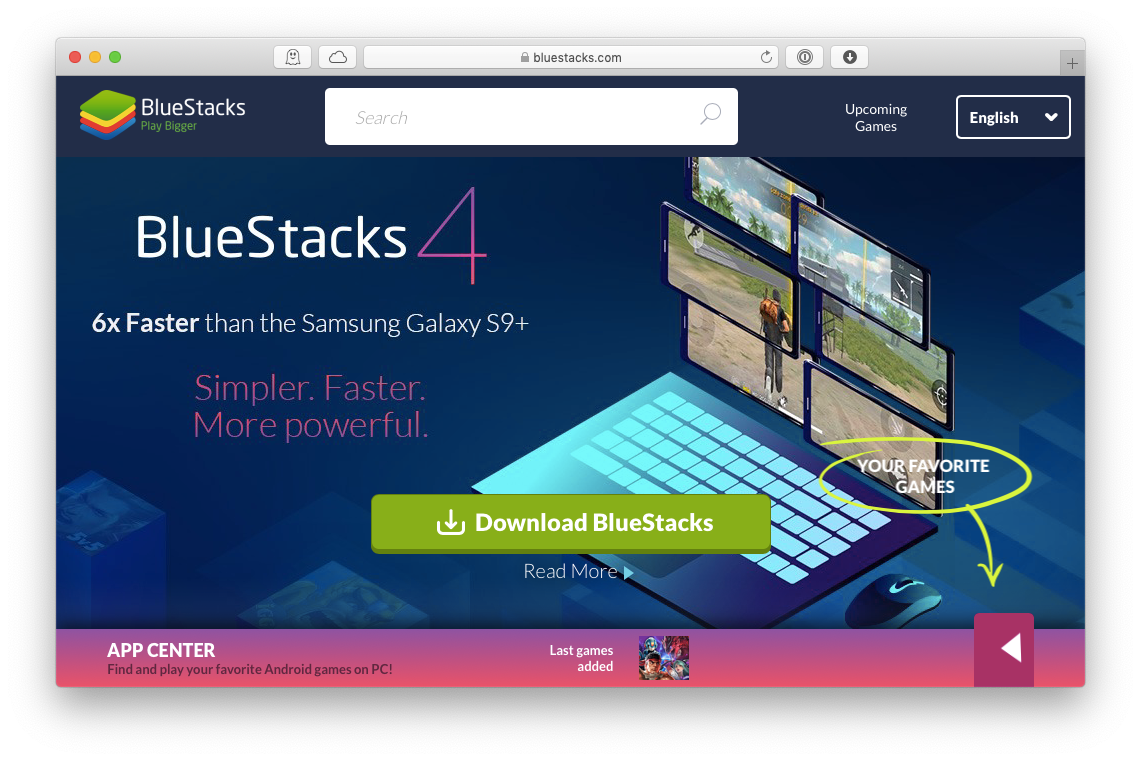 bluestacks android emulator mac