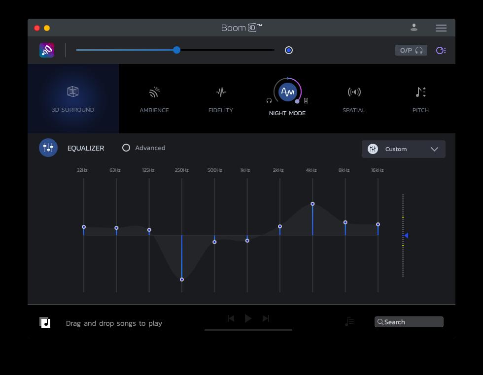 Boom 3D Mac audio experience