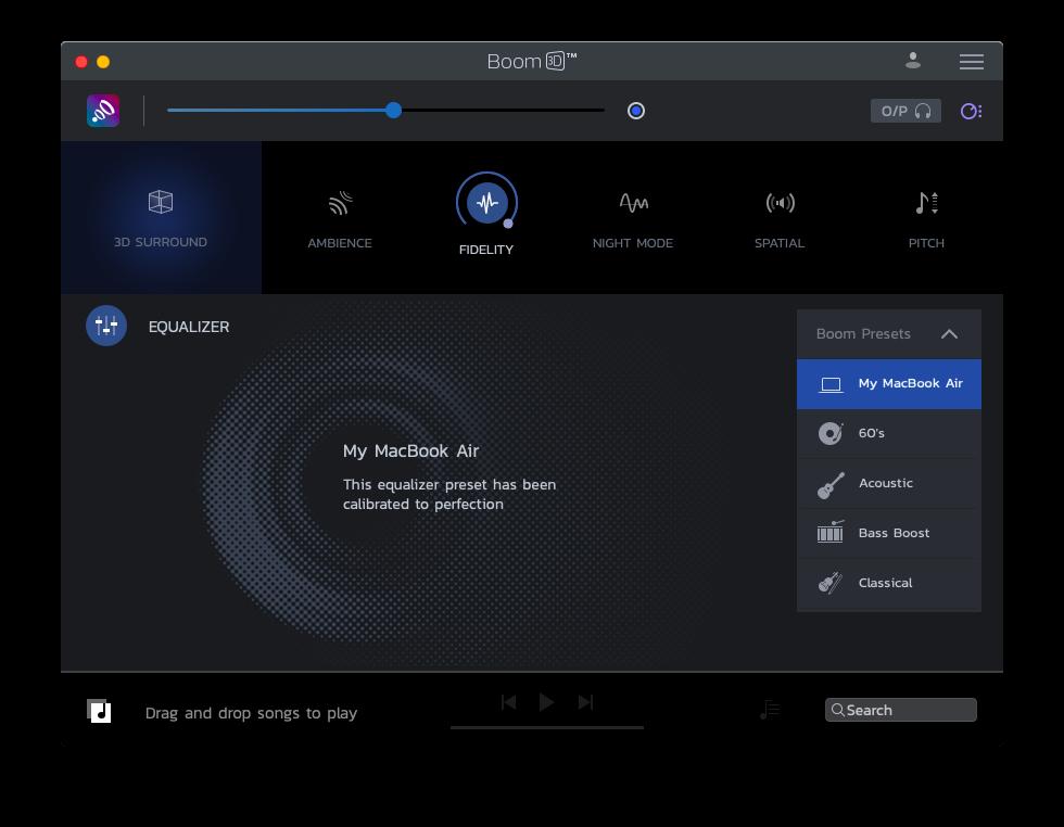 boom 3d surrond sound mac
