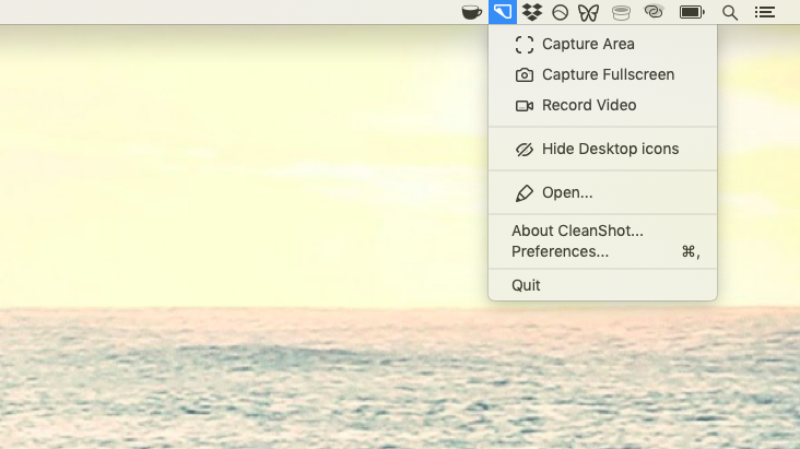 Cleanshot mac screenshot app