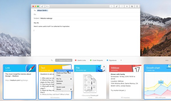 how to view clipboard history on mac