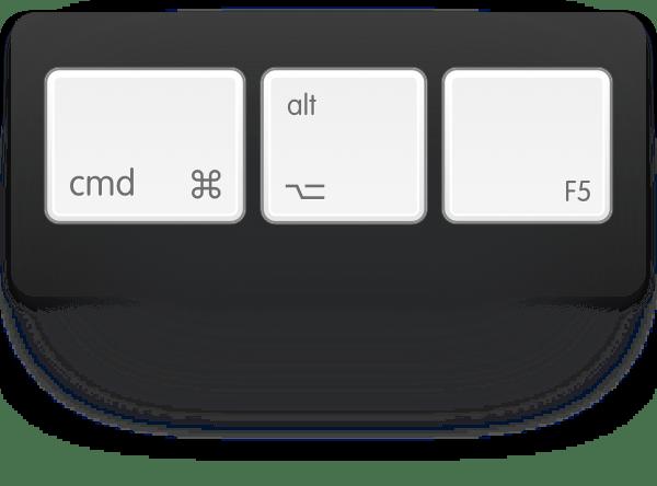 cmd-option-f5