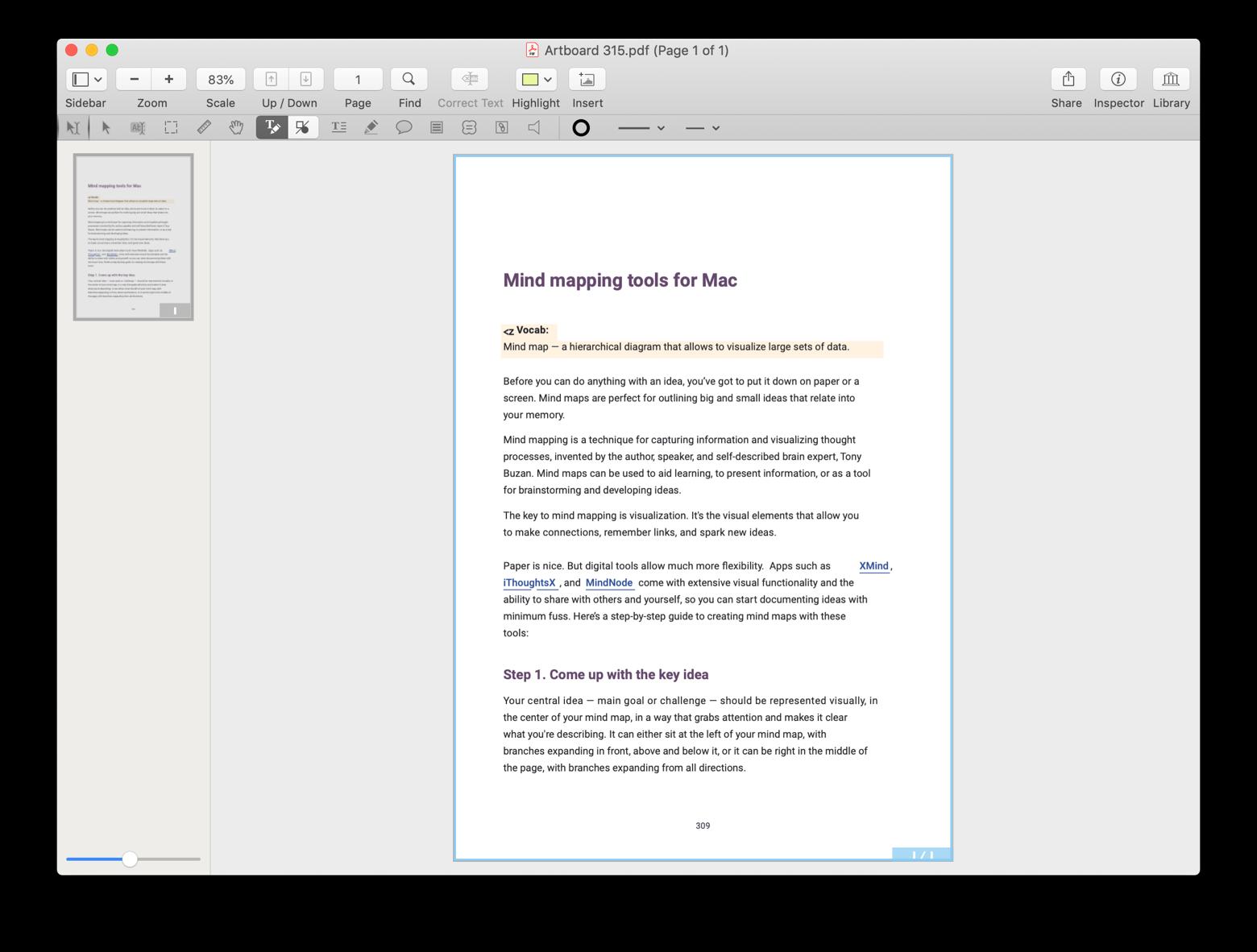Converta e edite um PDF no PDFpen