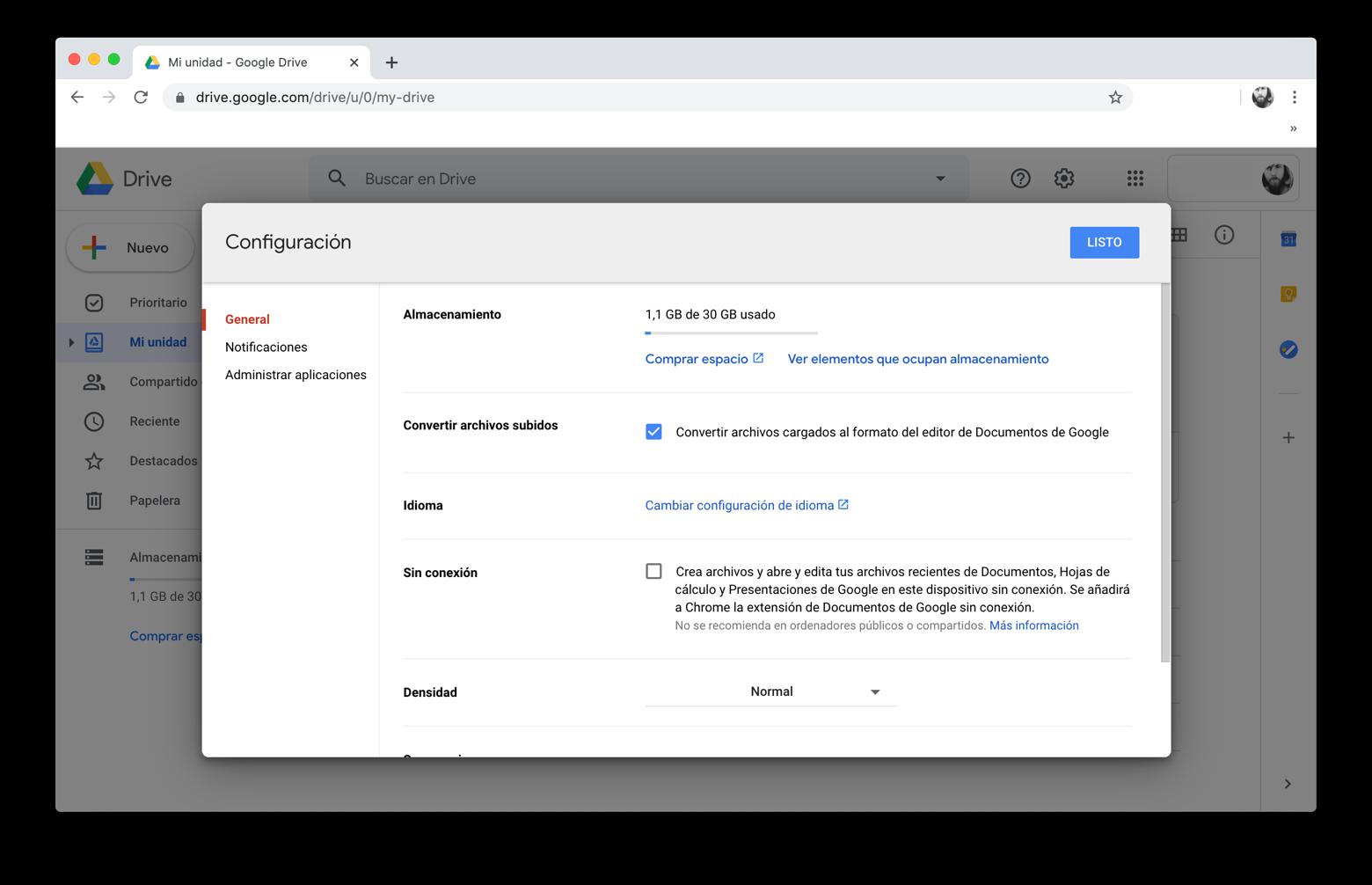 Convertir PDF a Word con Documentos de Google