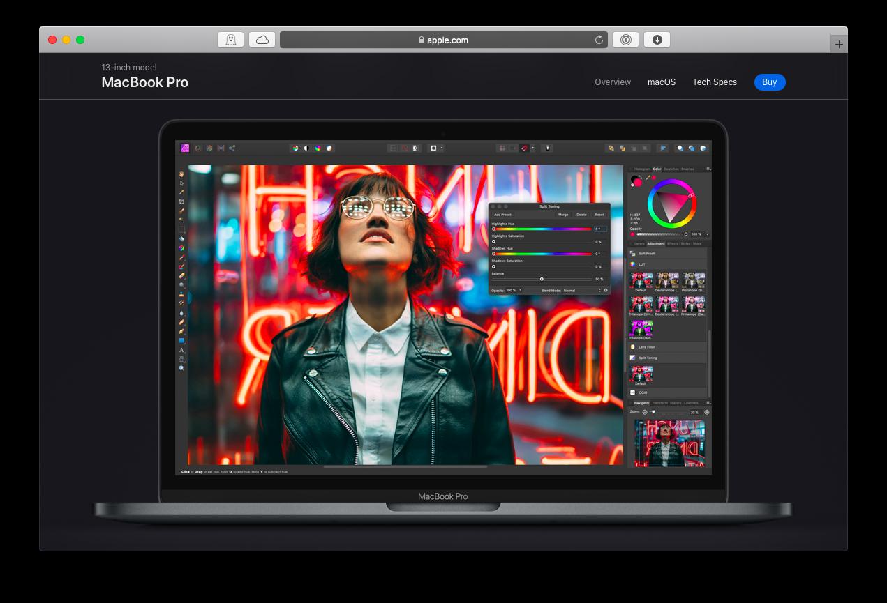 CPU RAM new MacBook Pro 2020