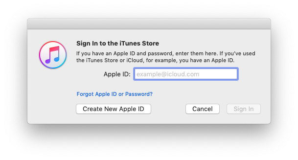 create new apple id itunes