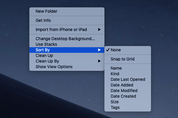 Fast And Easy Tips To Tidy Up Your Mac Desktop