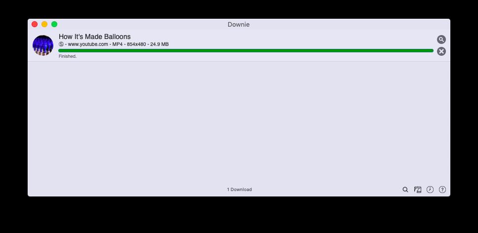 Downie download YouTube mac