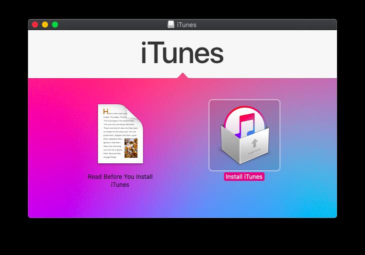 download iTunes mac