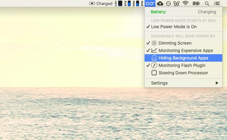 Endurance Mac battery life extend