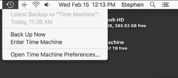 mac time machine restore files