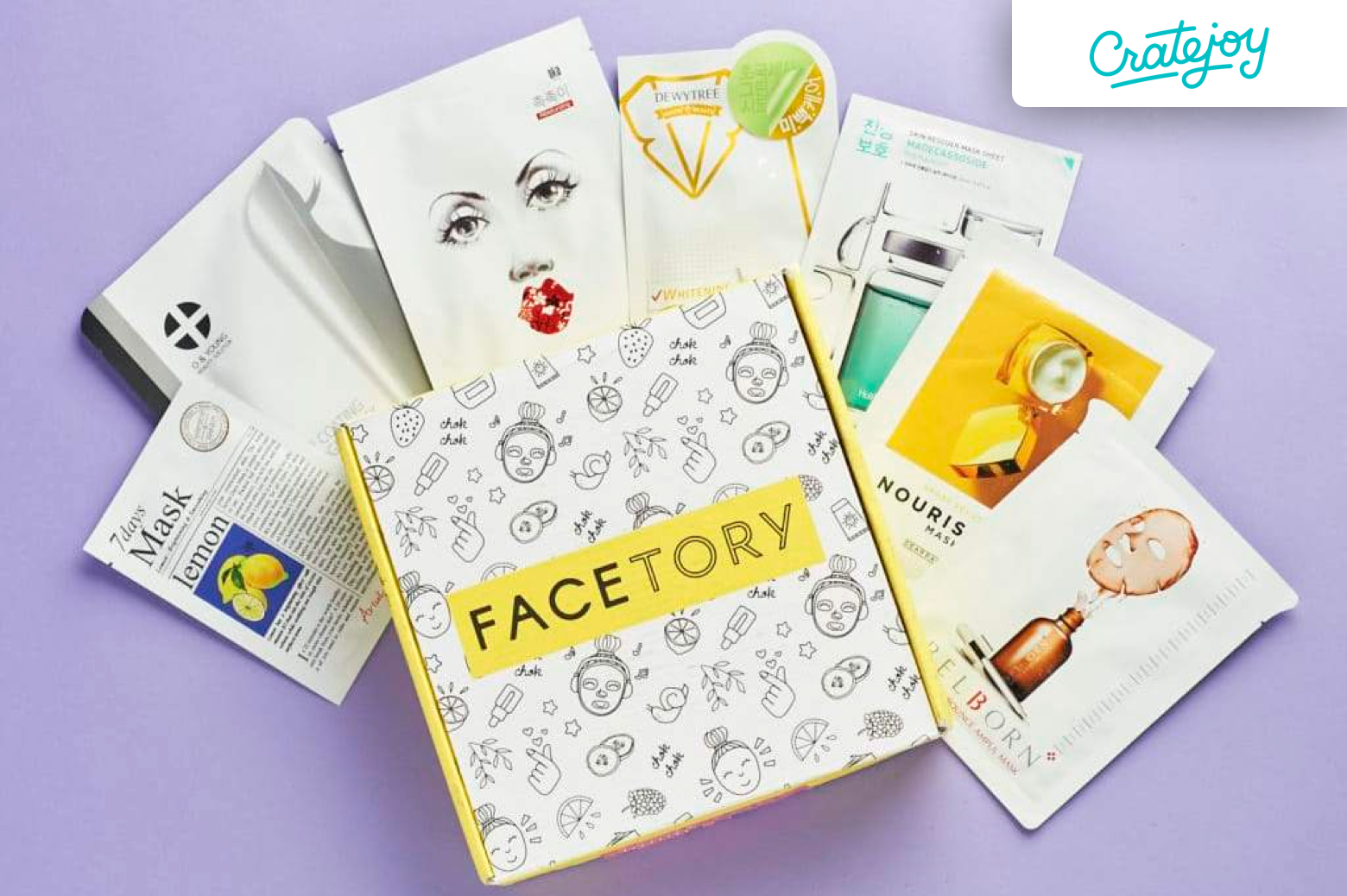 FaceTory cosmetic box | Cratejoy