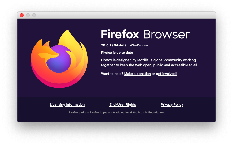 Firefox update automatic Mac