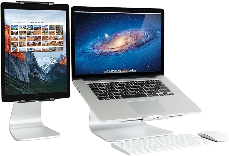 Flexible Mac laptop stand