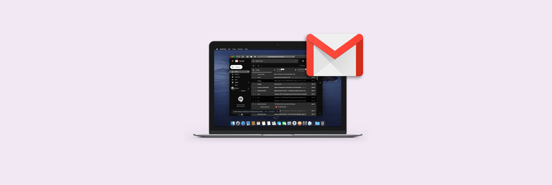 How To Use Gmail Dark Mode On Your Computer