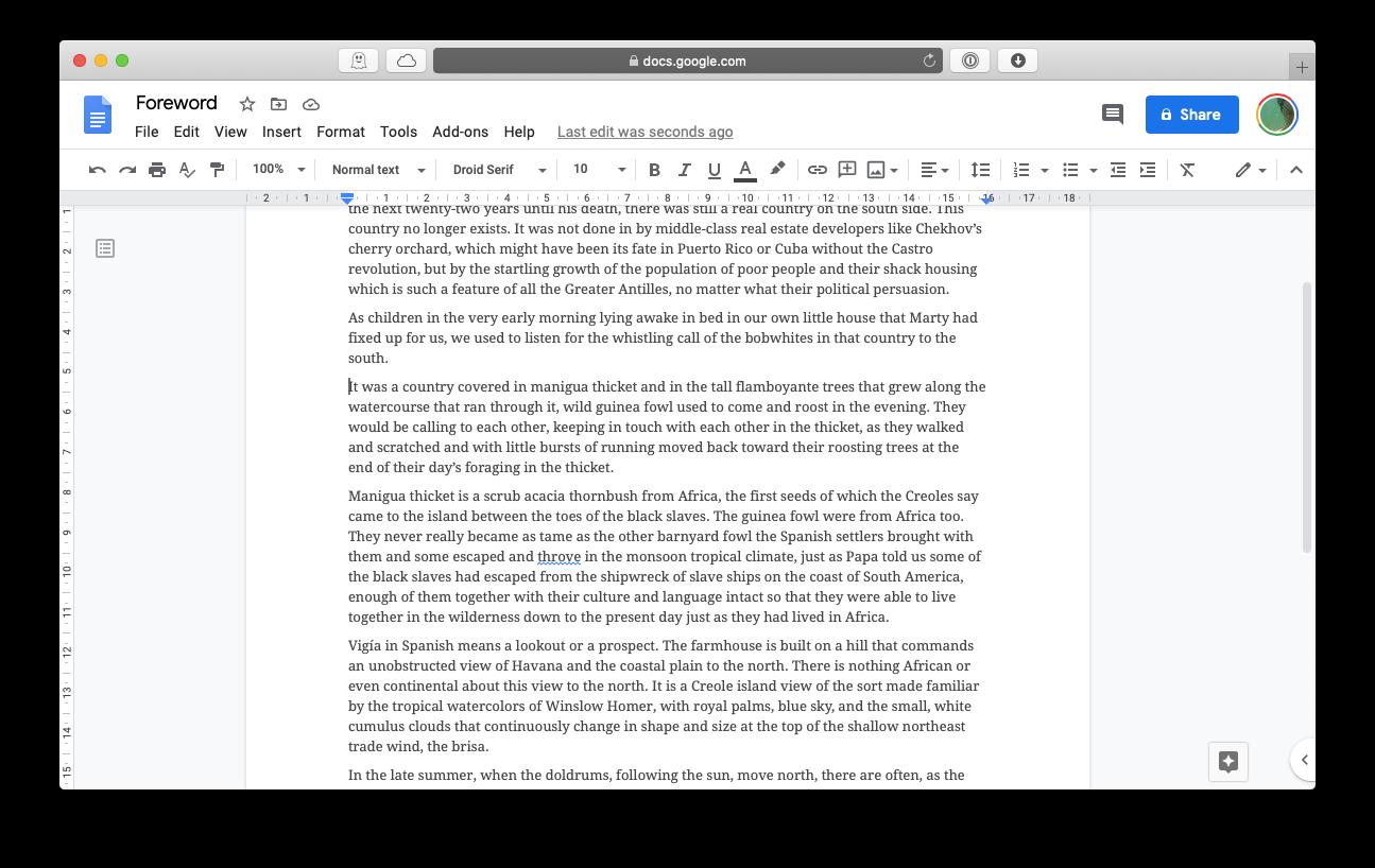 Google Docs free Microsoft Word