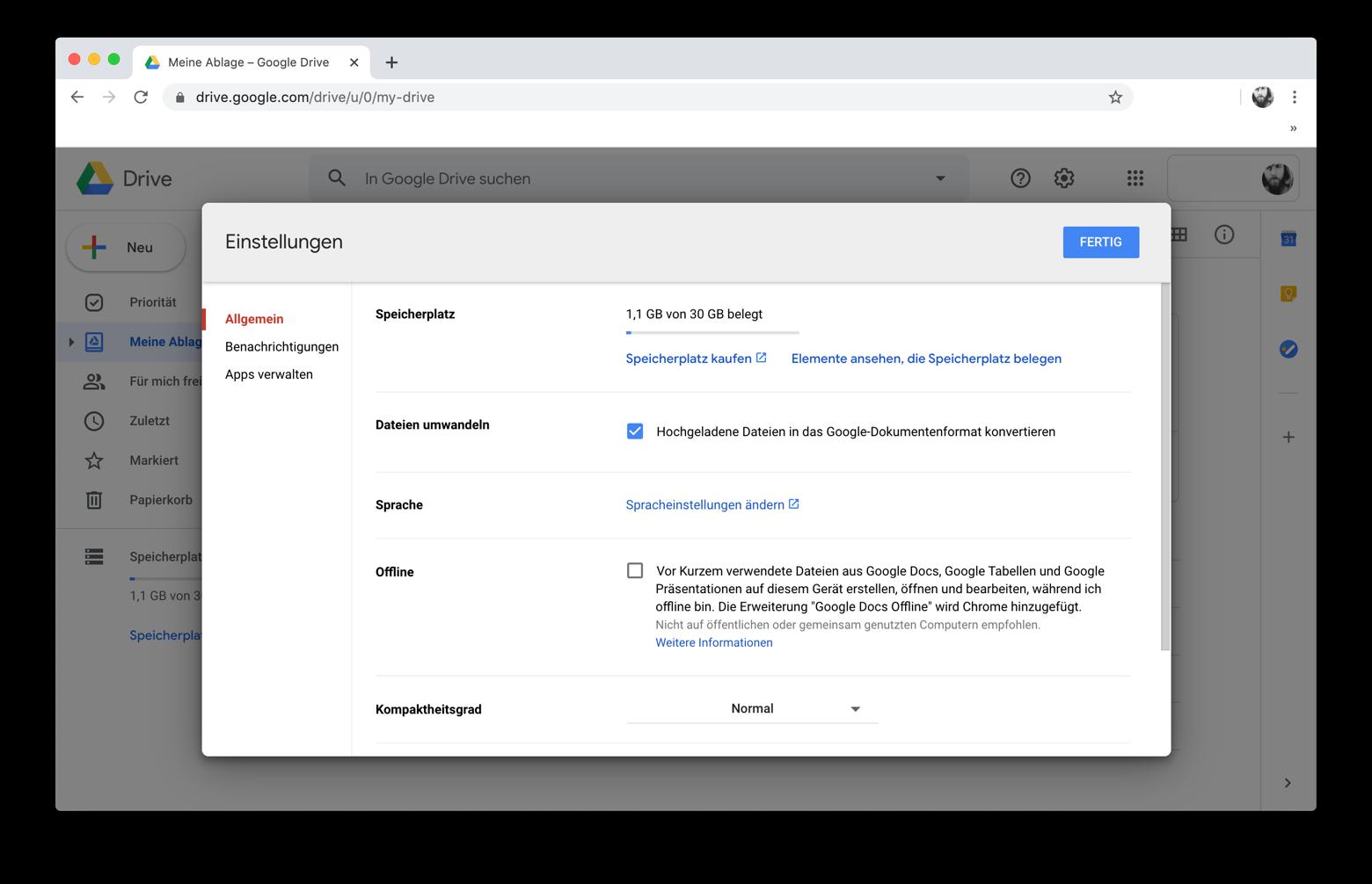 PDFs mit Google Docs in Word-Dateien konvertieren