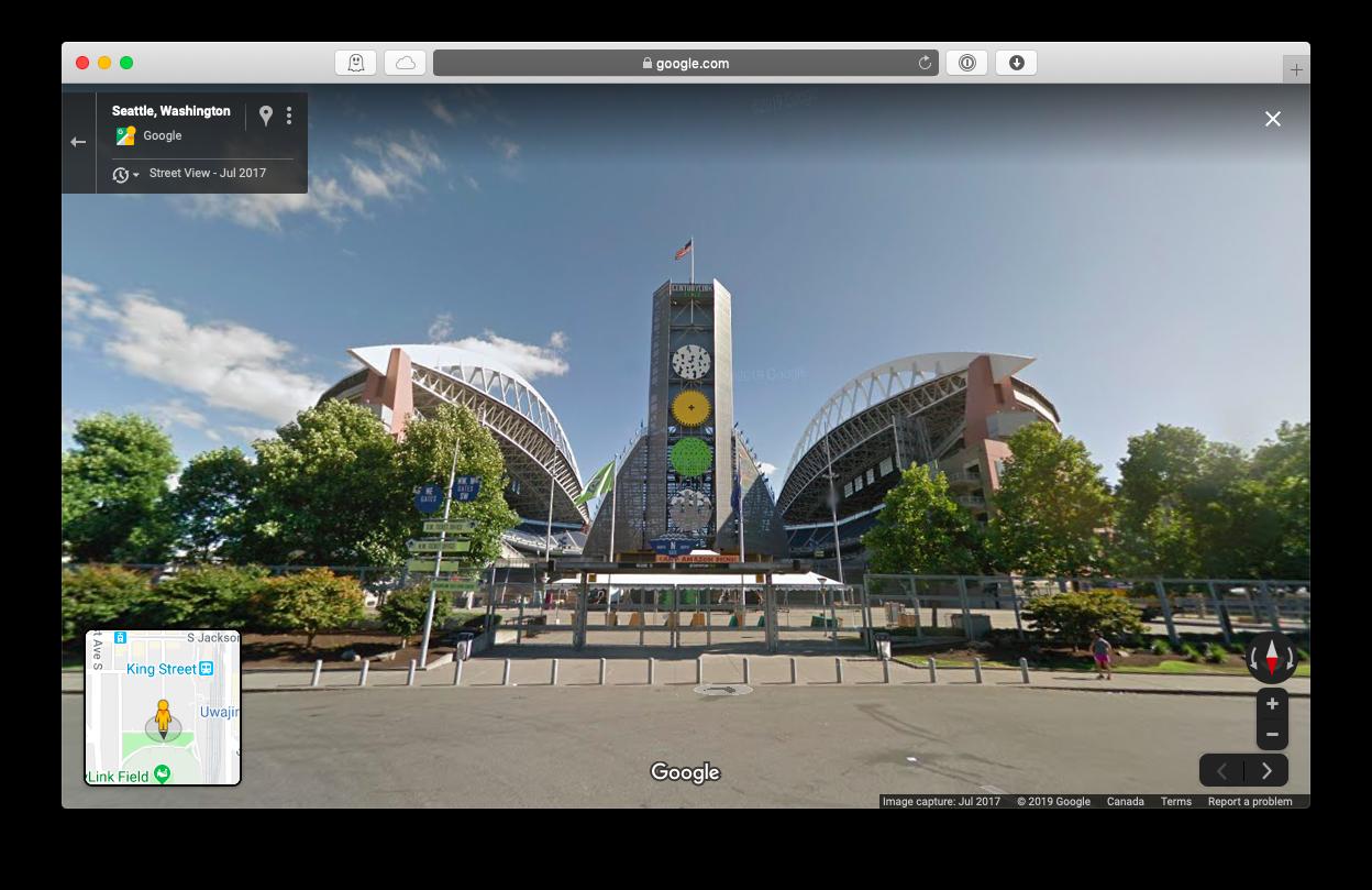Google Maps street view online