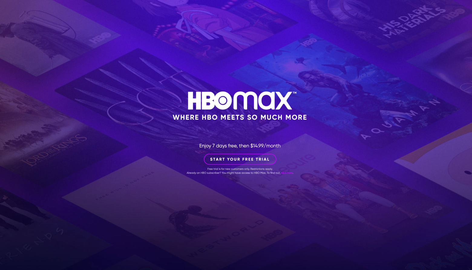 HBO Max brand