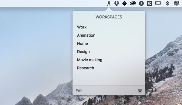 Workspaces app