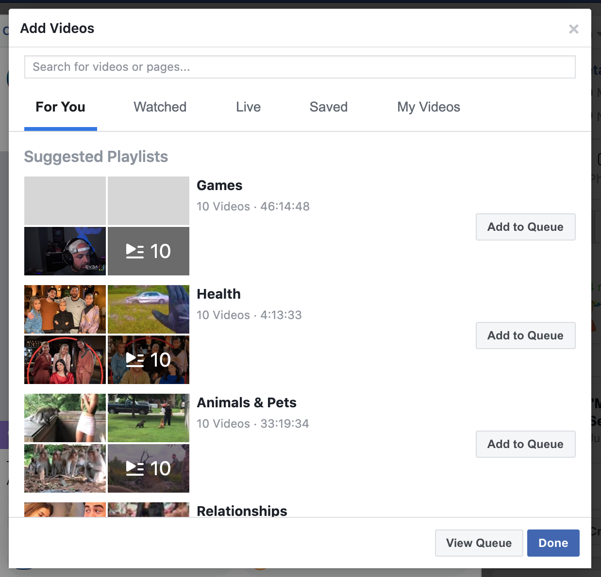 host Facebook Watch Party News Feed