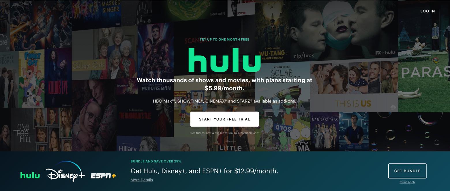 Hulu streaming Mac