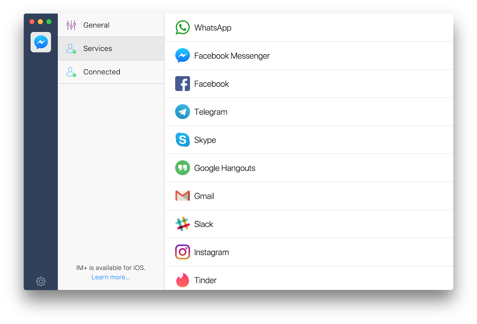 IM+ messaging client