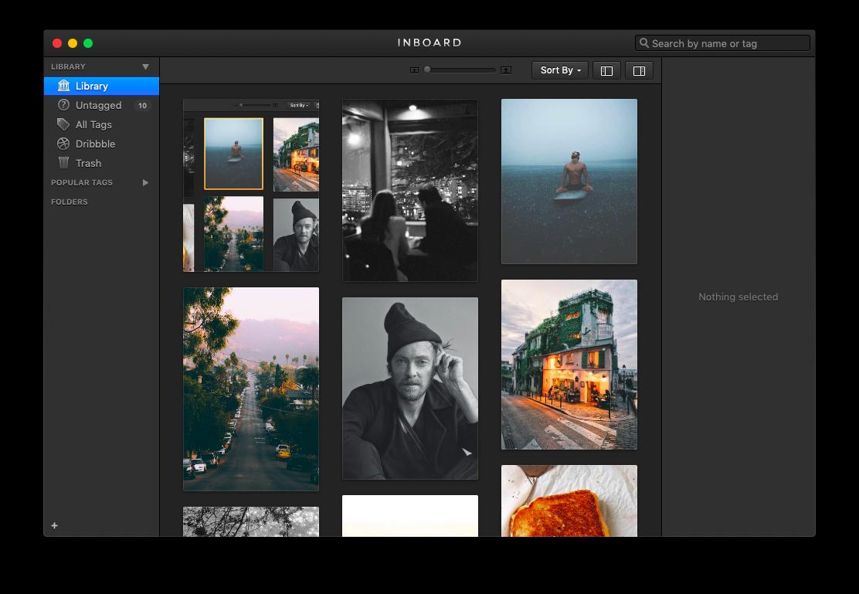 Inboard app Mac Pinterest