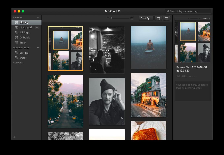 inboard screenshot mac chrome