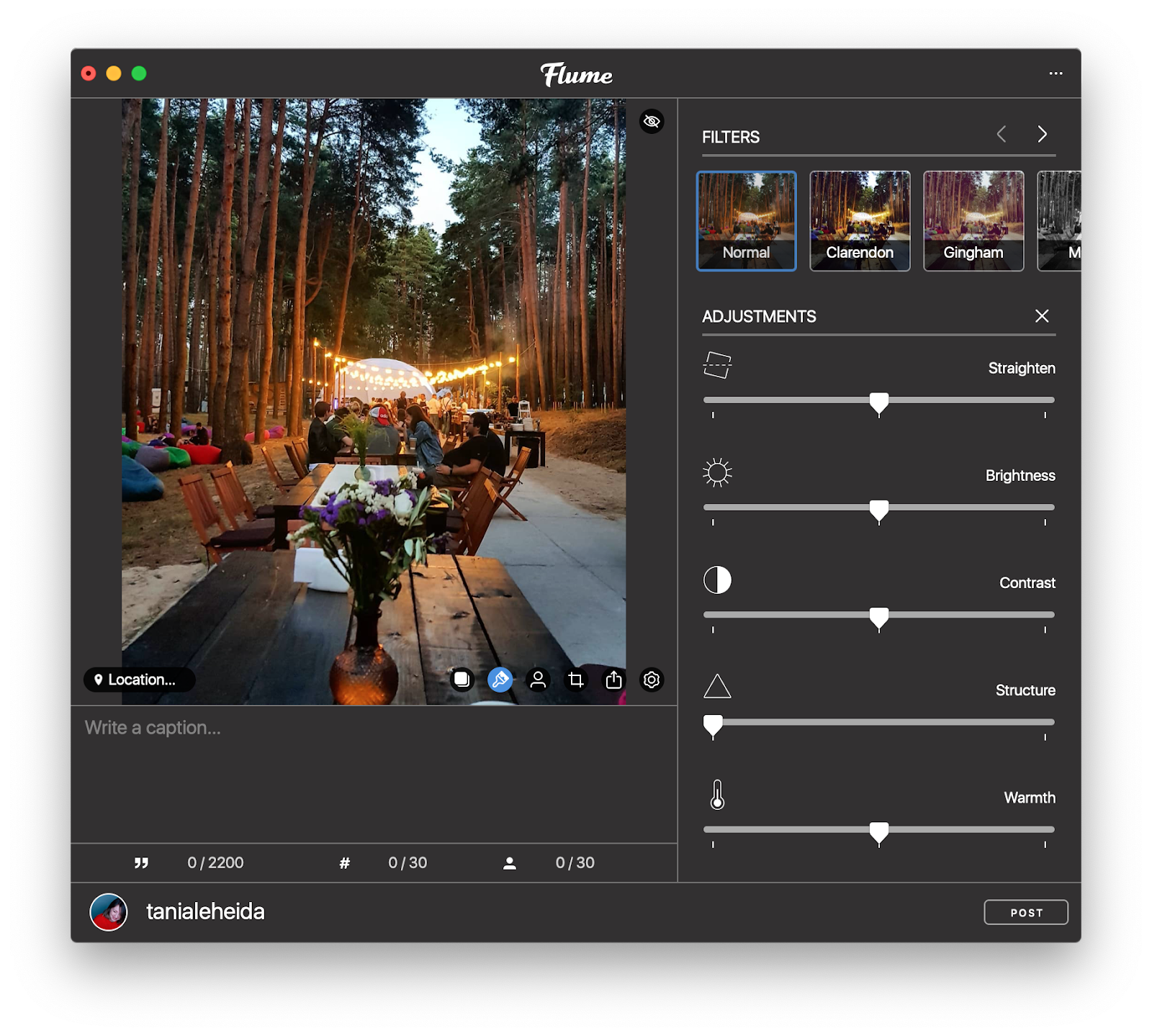 Edit and post photos to Instagram from Mac