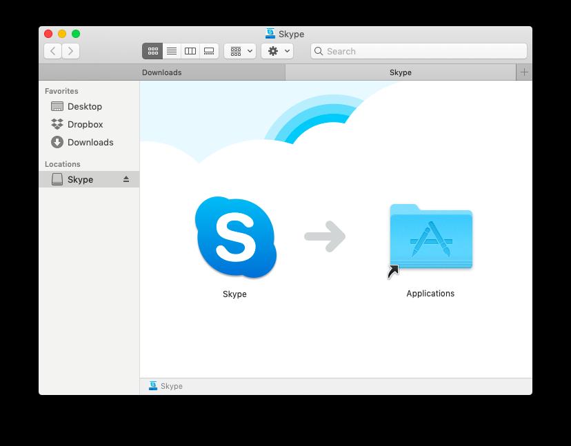 install skype on mac