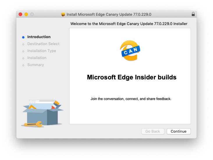 install microsoft edge beta mac